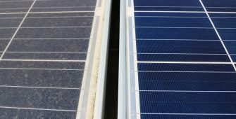 Solar panel cleaning clean vs dirty panel i-tech Electrical